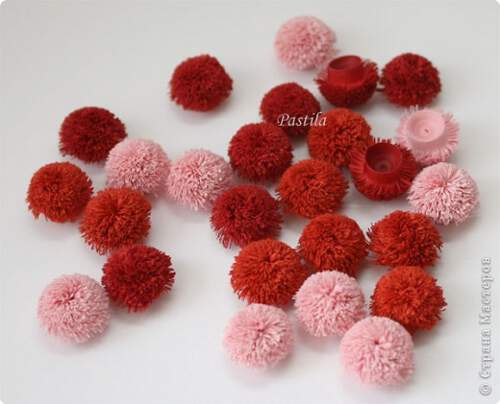 Квилинг пухкави цветя- стъпка 4