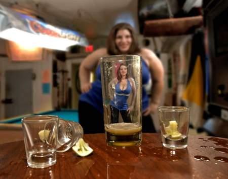 Жените и алкохола...