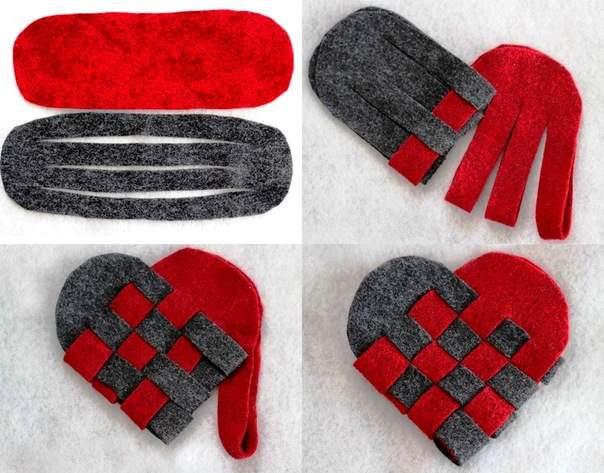 Плетено сърце
