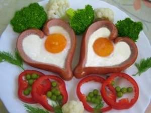 Яйца и кренвирши