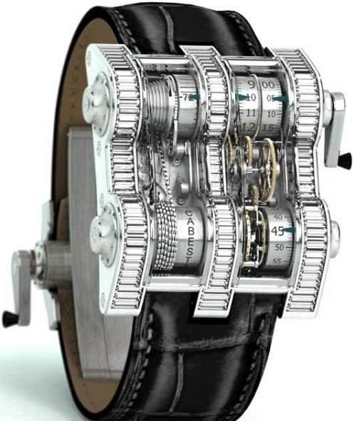 Cabestan Winch Tourbillion Vertica