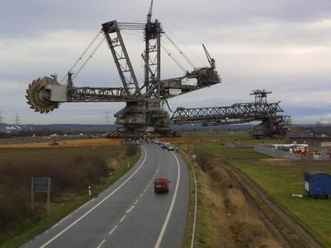 Най-голямата копаеща машина