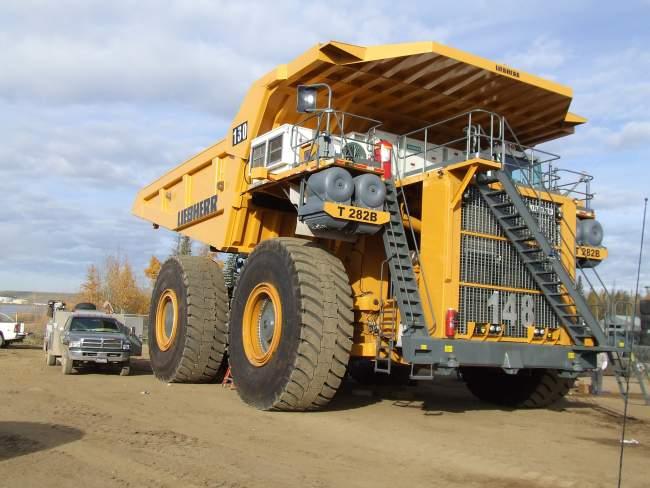 Най-големия камион