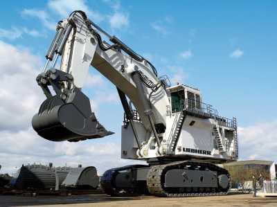 Liebherr Mining Excavator