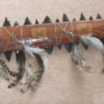 The Aztec Macuahuitl