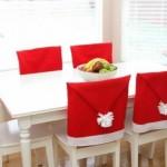 Коледни калъфки за столове