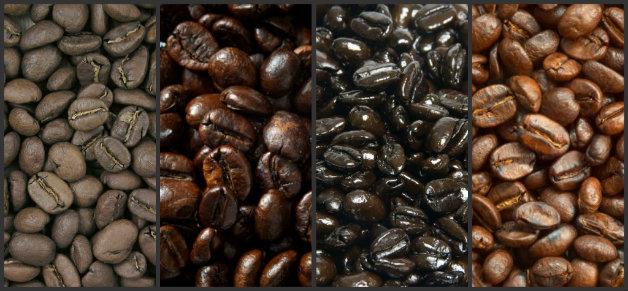Маркировки обозначаващи степента на изпичане на кафето