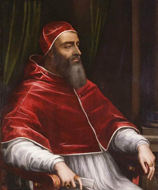 Портрет на отец Климент VIII