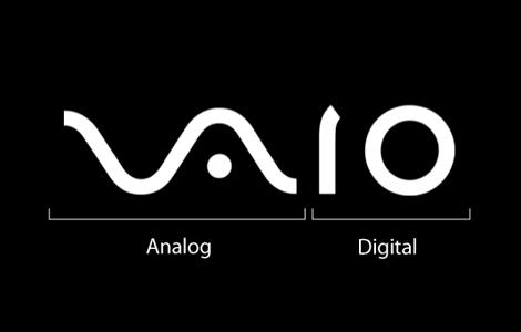 Логото на Sony Vaio