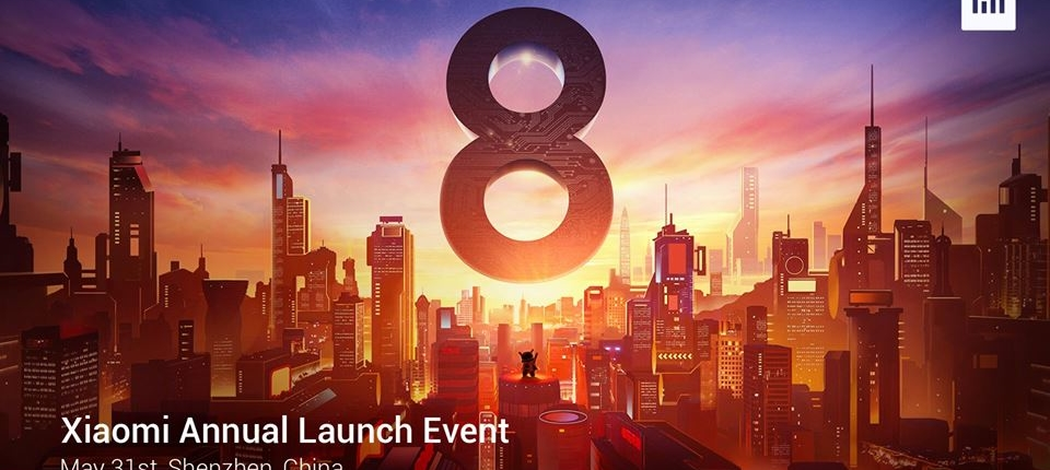 Xiaomi Annual Launch Event, May 31st, Shenzhen, China